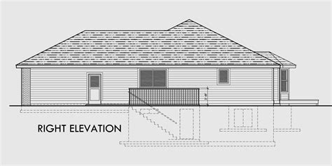 basement garage plans ranch house plan 3 car garage basement storage