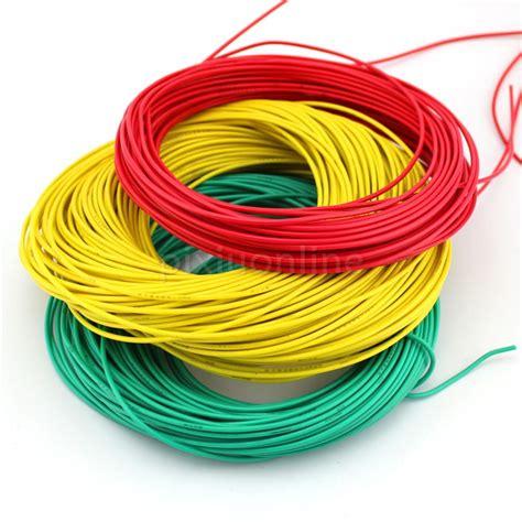 wire color 1meter pack j355 diameter 2mm multi color conductor model