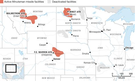 map us missile silos minuteman missile silo locations map
