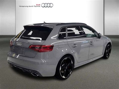 Audi Rs3 Kw by Audi Rs3 Sportback 2 5 Tfsi Quattro 270 367 Kw Ps S