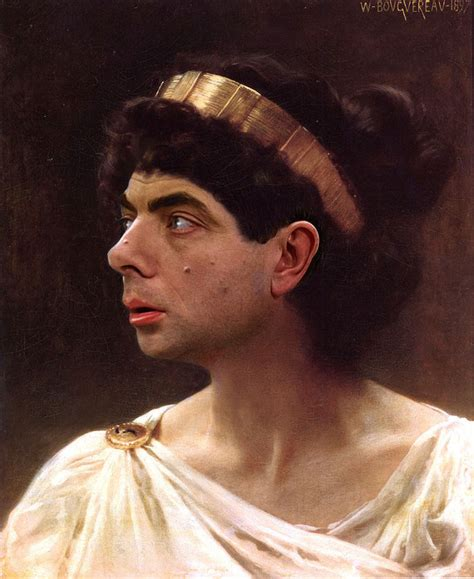 painting mr bean mr bean hilariously inserted into historical paintings