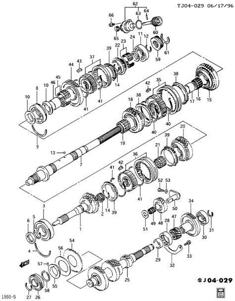 geo mv3 parts illustration manual transmission 28 geo metro manual transmission diagram wiring