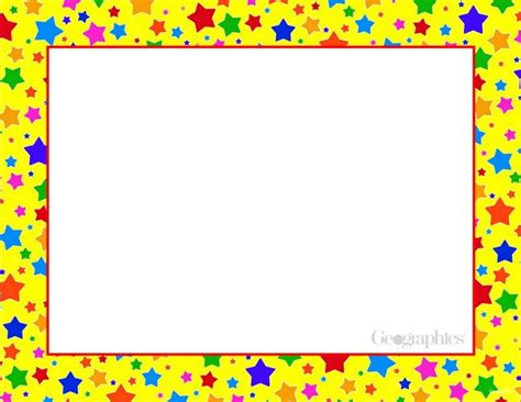 printable star picture frame 71 best printable certificates frames images on