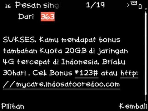 kuota gratis m3 20gb cara mendapatkan 20gb kuota gratis indosat secara cuma