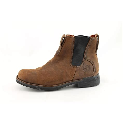 mens casual boots uk timberland mt washington chelsea mens brown leather