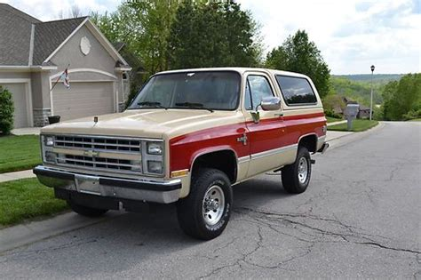 how to work on cars 1995 chevrolet k5 blazer electronic valve timing purchase used beautiful 1988 k5 chevy blazer w only 68k miles in shawnee kansas united states