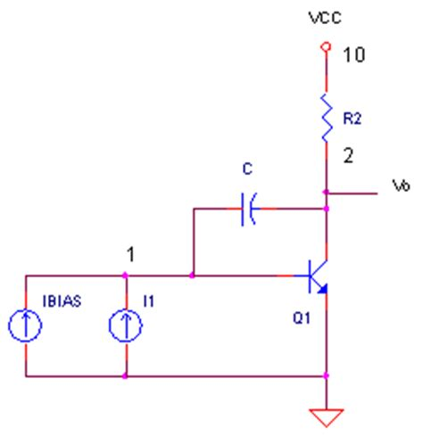 what is a integrator circuit miller integrator