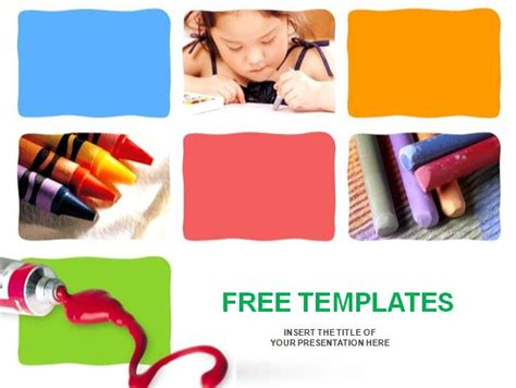 free preschool powerpoint templates search results for kindergarten paper template