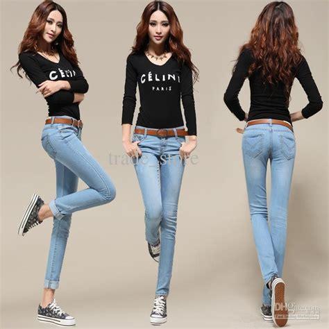 hot ladies fashion hot fashion sexy lady jean women s jean skinny jean slim