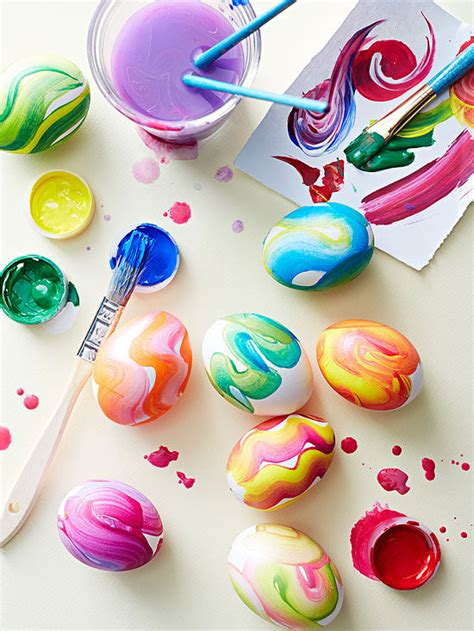 easy easter craft painting eggs fresh eggs modern easter egg crafts