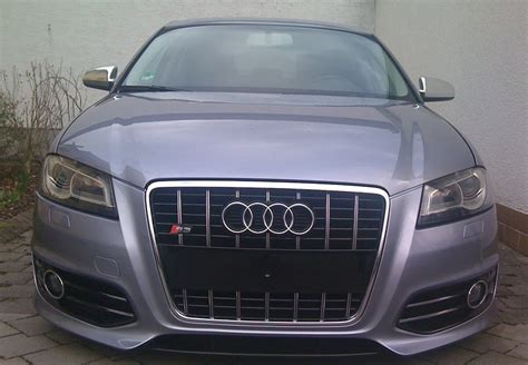 audi return policy audi a3 8p s3 s line look front grill sport black chrome