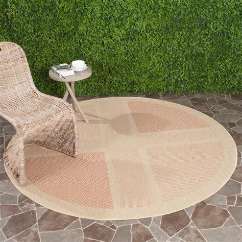 safavieh courtyard square indoor outdoor patio rug 8 x
