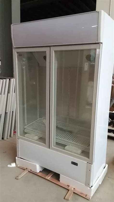 used glass door freezer commendable used glass door freezers lc s hk used glass