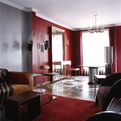 red home decor accents nature inspired red color schemes adding bright accents to