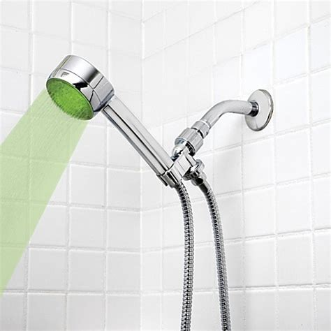 healthsmart lumatemp led shower head in chrome www