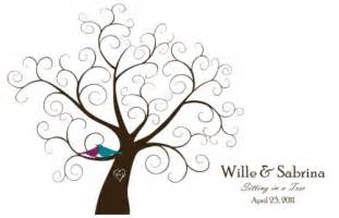 Wedding Family Tree Template by Family On Family Trees Wedding Fingerprint