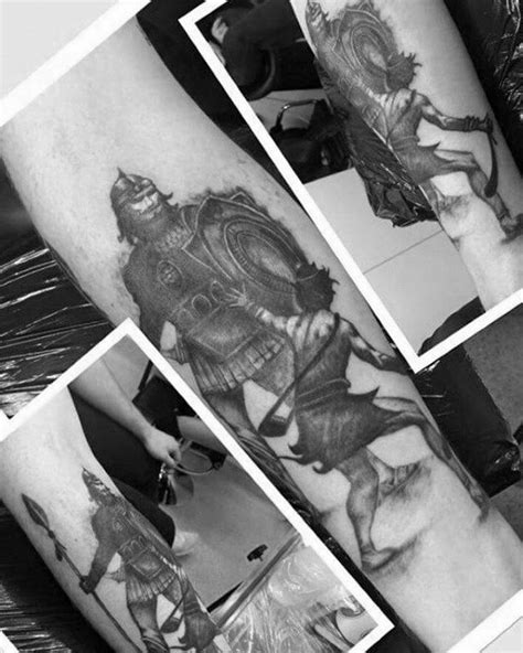 goliath tattoo 30 david and goliath designs for manly ideas