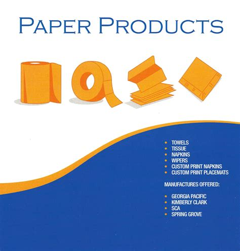 Paper Supplies - paper products pittsburgh food service paper products