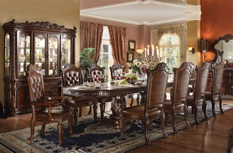 how to set a dining room table vendome formal dining room table set