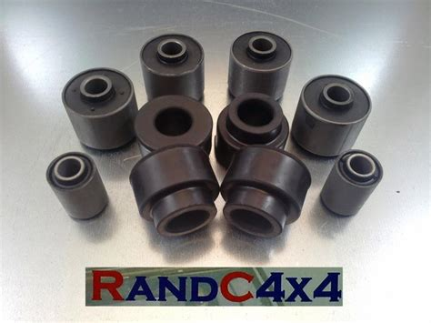 Bushing Radius Arm Land Rover Defender 1246 land rover defender front suspension radius arm panhard rod bush kit 97 02
