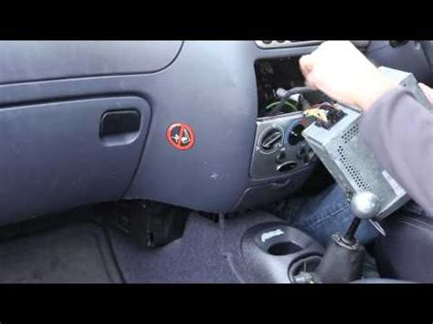 adding mp3 aux usb input to ford cd6000 radio fitting