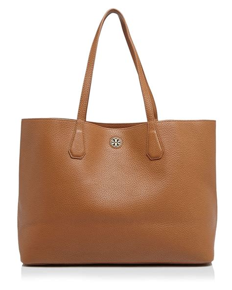 Totte Bag Maika Cafa Brown burch perry tote in brown lyst