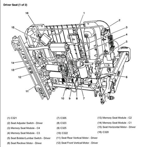 2003 tahoe seat motor which of the 3 do i need