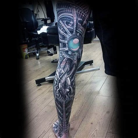 full leg sleeve tattoos designs 50 3d leg designs for manly ink ideas