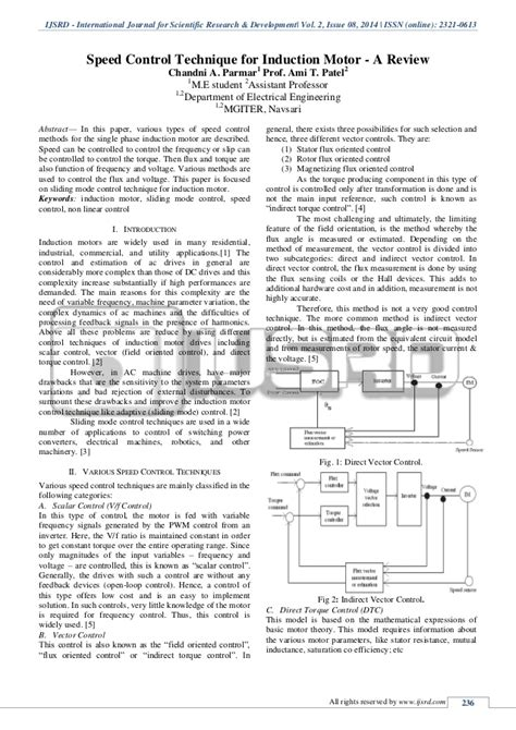 rating of linear induction motor speed techniques for induction motor a review