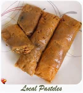 recipes for pork pasteles food baskets recipes