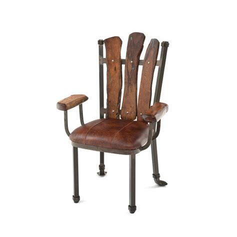 restaurant dining room chairs with arms dining room design steel traditions scottsdale arm chair with leather seat