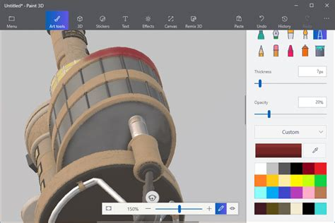 paint 3d how to insert and paint 3d models in paint 3d
