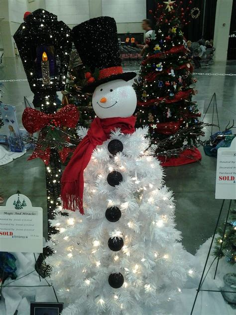 1000 ideas about snowman tree on pinterest christmas