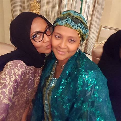 biography of zahra muhammad buhari gumsu sani abacha cosies up with aisha zahra buhari in