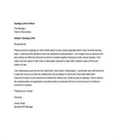 Apology Letter To Us Embassy 13 Letter Of Apology Templates Free Sle Exle
