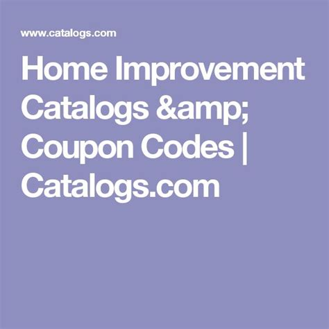 best 20 home improvement catalog ideas on
