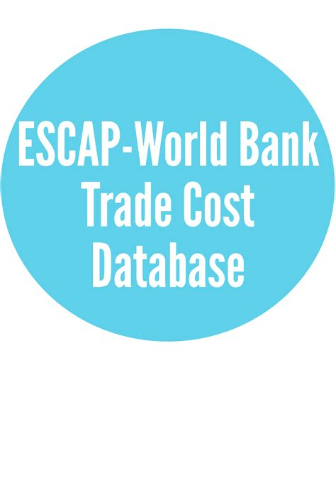 Escap World Bank Trade Cost Database United Nations Escap