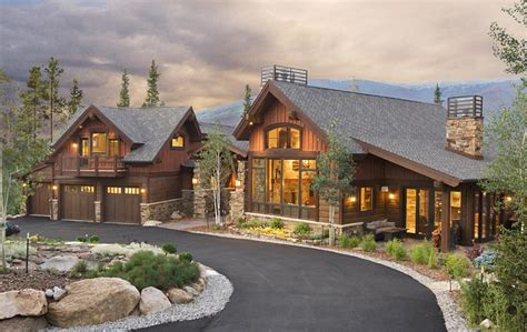 colorado mountain home plans colorado custom mountain home architects bhh partners