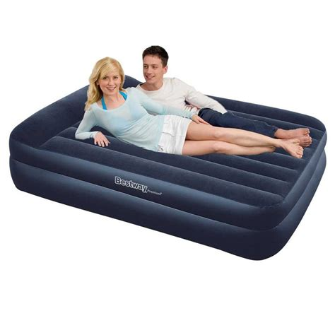 inflatable queen bed bestway luxury air bed queen size inflatable ma