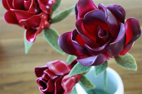 plastic spoon roses diy recycled 6 diy plastic spoon decorations