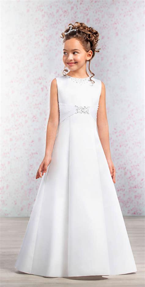 communie jurken c a emmerling style 70190 annalena satin first communion
