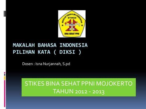 tutorial powerpoint bahasa indonesia makalah bahasa indonesia ppt
