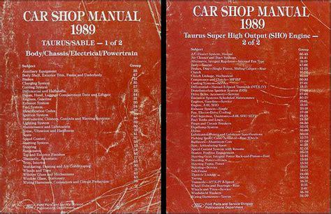 motor repair manual 1994 mercury sable head up display ford taurus mechanics manual freeloadrentals