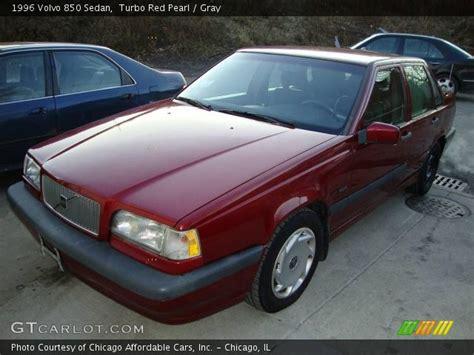 1996 volvo 850 turbo turbo pearl 1996 volvo 850 sedan gray interior