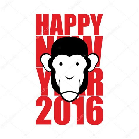 new year what animal for 2016 happy new year 2016 year of monkey animal on