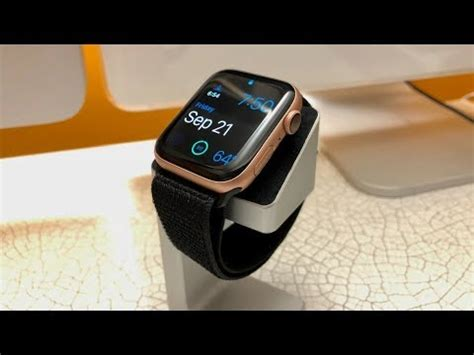 44mm Apple Series 4 by Unboxing Apple Series 4 Gold 44mm