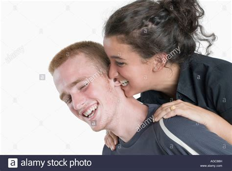 biting a s ear up of a biting a s ear stock photo royalty free image