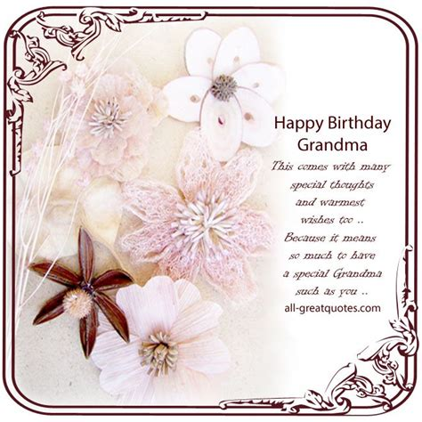 Happy Birthday Wishes For Grandmother Free Birthday Cards For Grandmother Happy Birthday