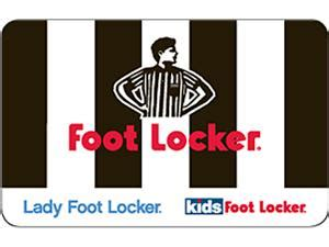 Where Can I Use A Footlocker Gift Card - foot locker 100 gift card email delivery newegg com