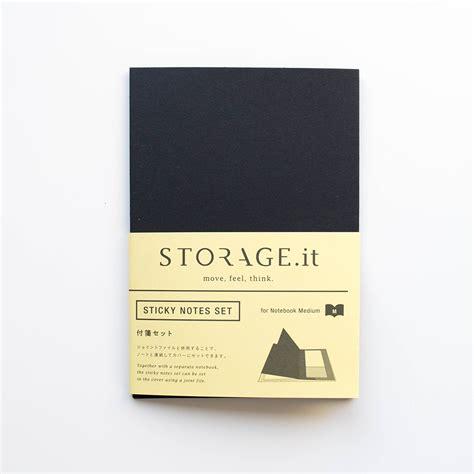 Sticky Note Set storage it sticky notes set